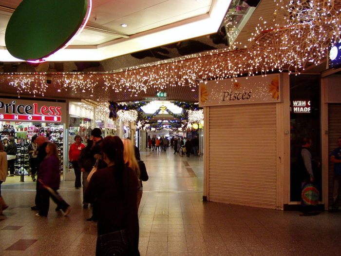 Christmas Shopping in Liverpool at St John's Shopping Centre