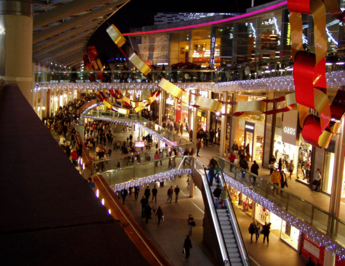 Liverpool Christmas Shopping at Liverpool ONE